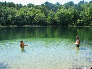 Spectacle Pond Lancaster Fishing Spot Ma Fish Finder